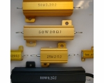 Gold Aluminum Housed Wire Wound Resistors